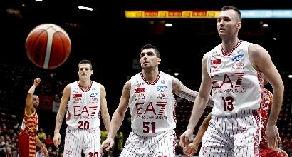 Basket, Final Eight 2016: Milano avanti, Sassari detronizzata