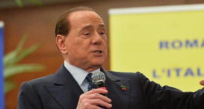 """Berlusconi: """"Totti? Mai pensato di portarlo al Milan, le bandiere non si toccano"""""""