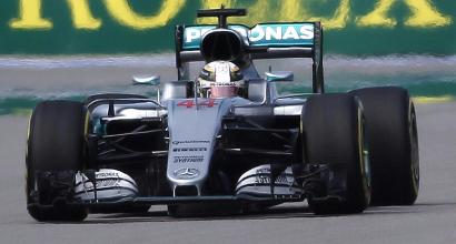 """F1 a Sochi, Hamilton: """"Ho spinto come un pazzo"""""""