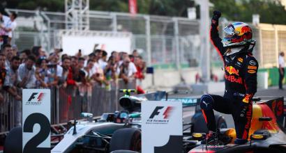 """Ricciardo, stoccata a Vettel: """"A volte non pensa"""""""