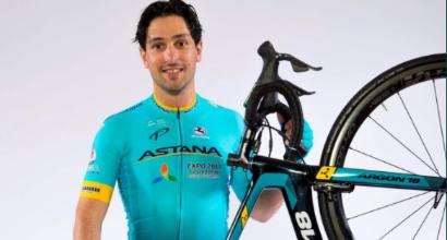 Ciclismo, brutta caduta per Oscar Gatto: sbatte la testa sull'asfalto