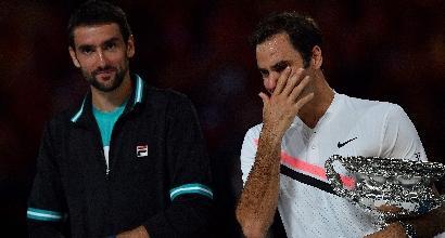 """Aus Open, Federer in lacrime dopo il 20° Slam: """"Questa è una favola"""""""