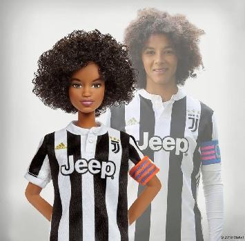 Festa della donna: una Barbie dedicata a Sara Gama, capitano della Juventus femminile