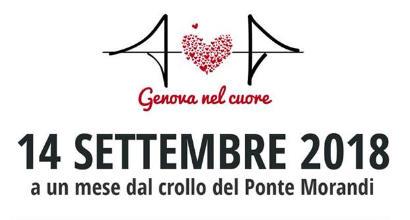 Ponte Morandi, un mese fa il crollo: Genoa e Samp ricordano le vittime