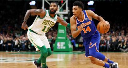 Nba: i Celtics asfaltano i Knicks al Garden di Boston, Houston capitola a Salt Lake City