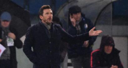 """Roma, DiFra: """"Siamo ancora malati, ma abbiamo tirato fuori l'orgoglio"""""""