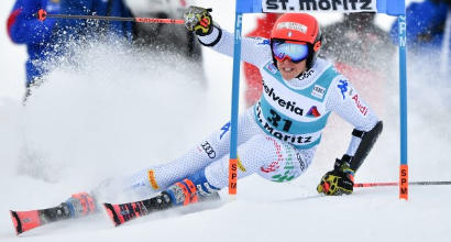 Sci: Brignone quarta nel gigante di Courchevel