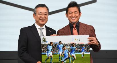 Giappone, Miura è davvero eterno: rinnovo con lo Yokohama a 51 anni