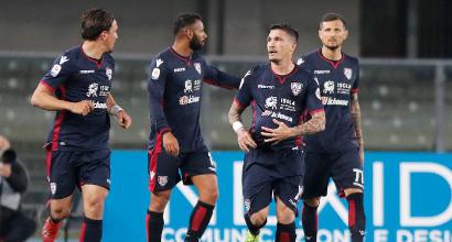 Cagliari: dodicesimo gol di testa, superata la Juventus
