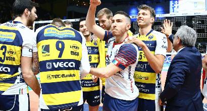 Volley, SuperLega: Modena strapazza Milano in gara 1
