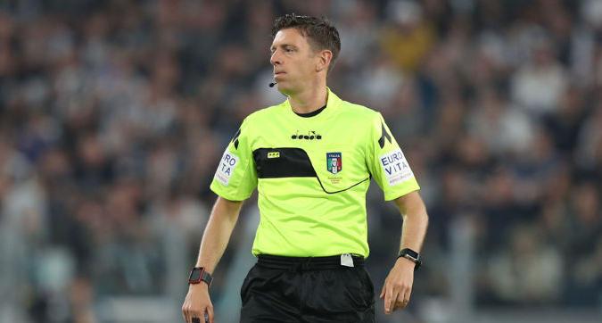 Serie A, gli arbitri della 32.a giornata: Rocchi in Milan-Lazio