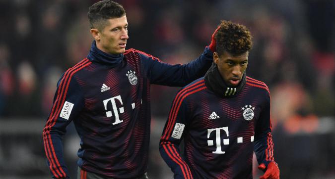 Bayern: lite Lewandowski-Coman