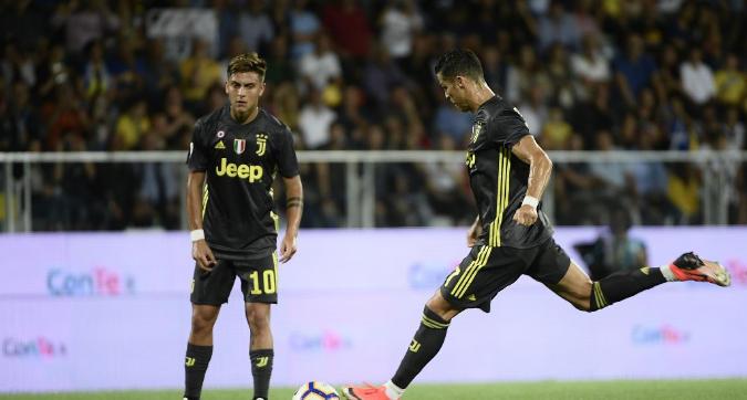 Ronaldo, tabù sfatato: torna a segnare su punizione