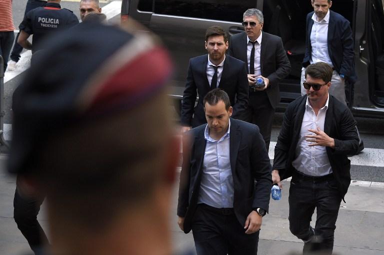 Barcellona: Messi in tribunale
