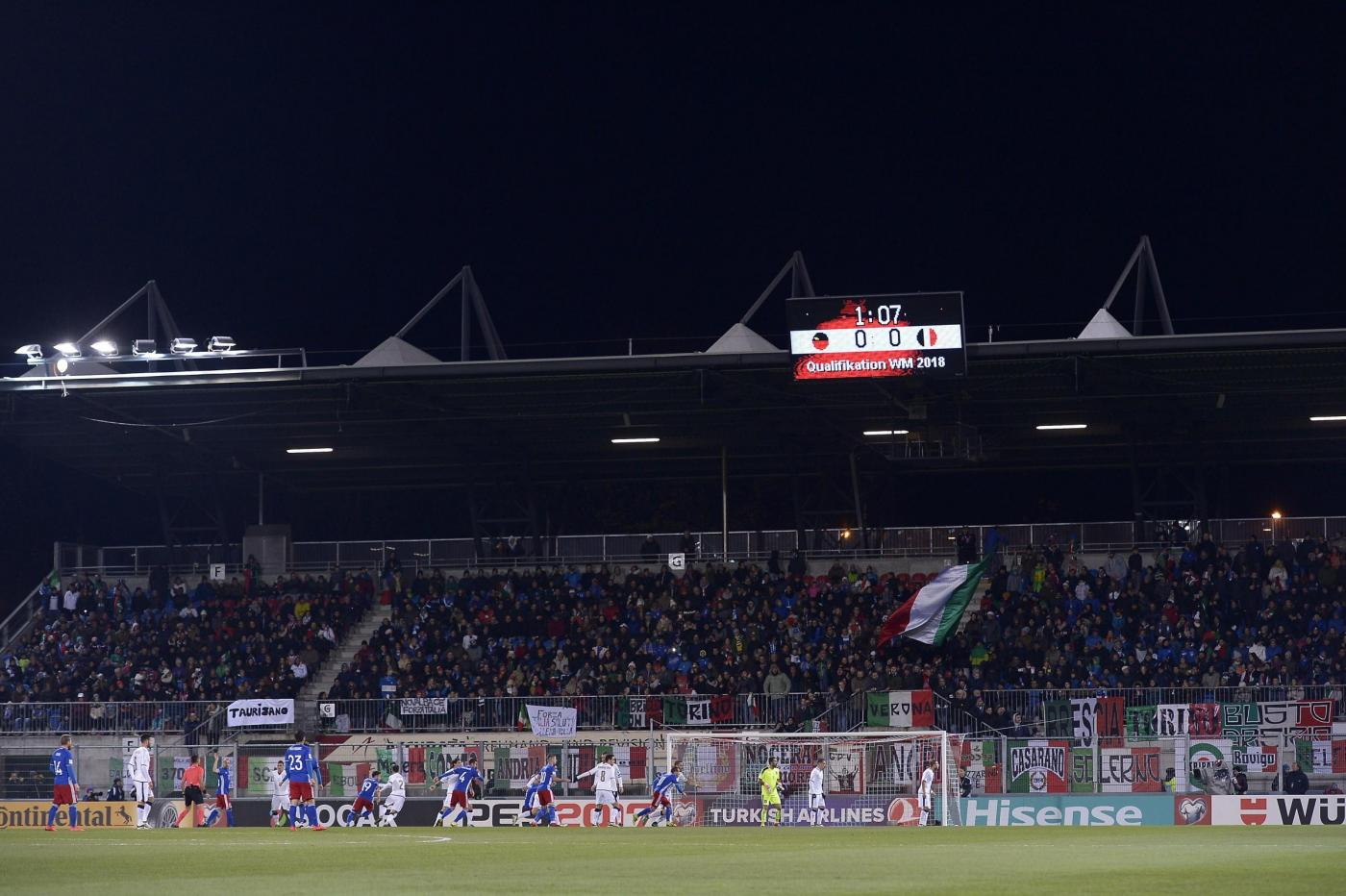 Liechtenstein-Italia 0-4, le foto del match