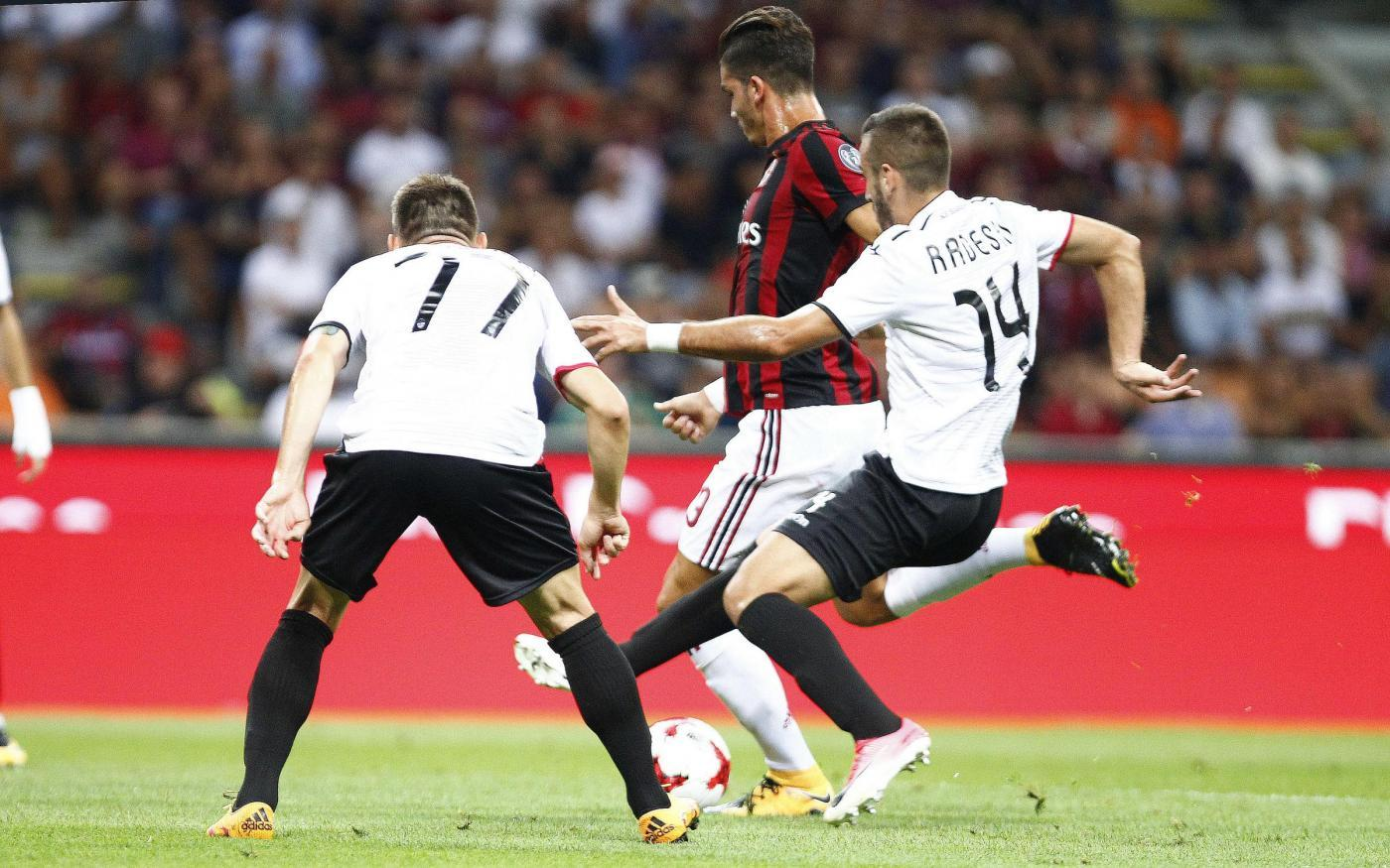 Europa League, Milan-Shkëndija 6-0