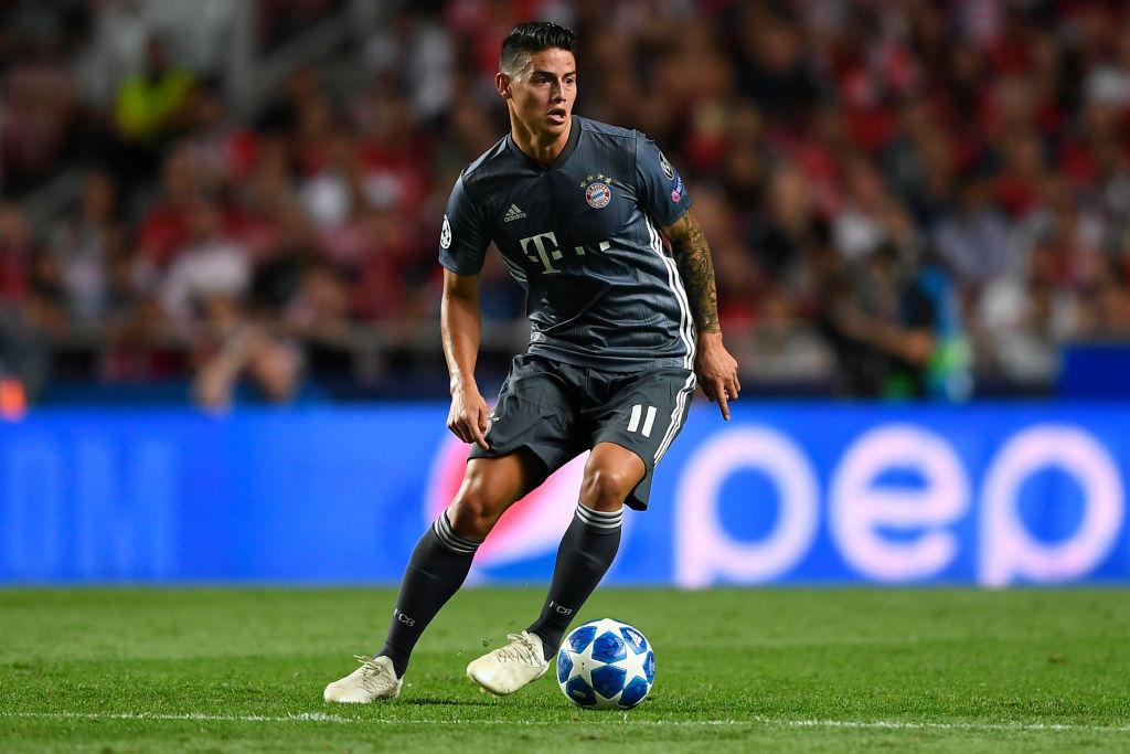 5) JAMES NON TORNA - Si avvicina la fine del prestito biennale al Bayern del trequartista colombiano, che potrebbe tornare alla base. Fu però proprio Zidane l'allenatore che lo mandò in panchina.