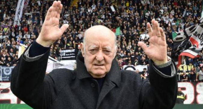 Serie B, l'Ascoli dedica una tribuna a Carlo Mazzone