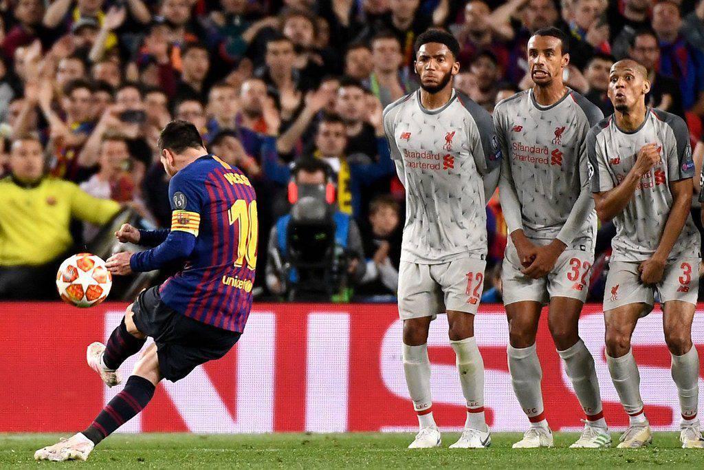 Lionel Messi (Barcelona v Liverpool)