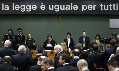 Il processo per Calciopoli, foto LaPresse
