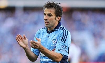 Del Piero, AFP