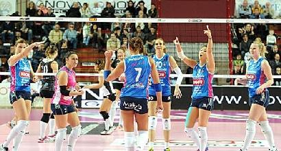 Volley, A1 femminile: sorridono Novara e Casalmaggiore