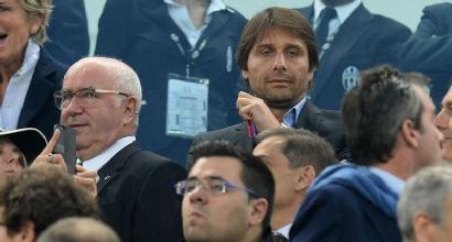 """Italia, Tavecchio: """"Conte lascia dopo l'Europeo. Dopo di lui uno che costerà meno"""""""