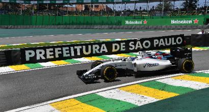 Formula Uno: pole Hamilton a Interlagos