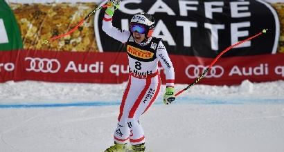 Mondiali sci, Goggia e Vonn male nel Super G