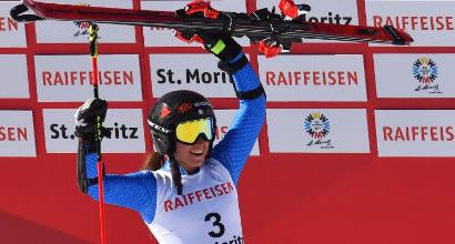 """Mondiali sci, Goggia: """"Che liberazione, è stata un'emozione grandissima"""""""