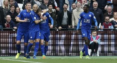 IL LEICESTER VINCE ANCORA