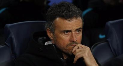"""Barcellona, Luis Enrique contro l'arbitro: """"C'era un rigore netto per noi..."""""""