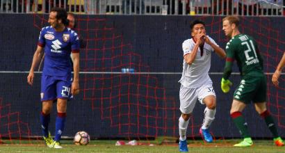 Cagliari-Torino, è di Han la prima rete nordcoreana della Serie A