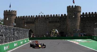 F1, GP Azerbaigian: exploit Verstappen, ma Vettel fa paura