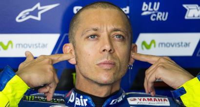"""MotoGP Germania, Rossi: """"Lenti in tutte le condizioni"""""""