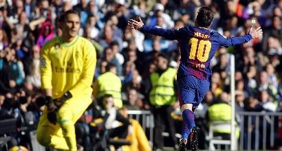 Liga, il Barcellona travolge il Real Madrid nel Clasico