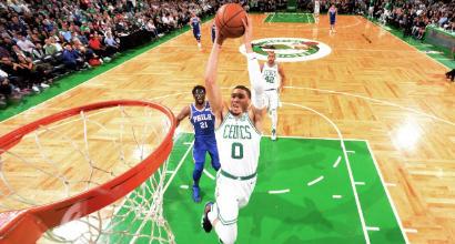Nba, playoff: Boston batte i Sixers e vola in finale contro LeBron