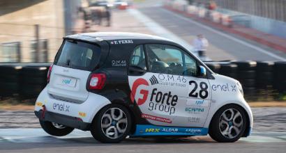 Ferri è il primo vincitore della smart EQ fortwo e-cup. Premiati anche Lembo, Simoni e Sellani