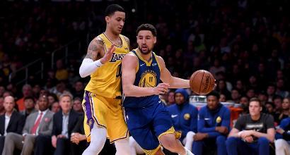Nba: Harden ne mette 37 ma non basta contro Philadelphia, Warriors a valanga sui Lakers