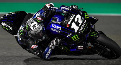 Test MotoGP: Vinales davanti