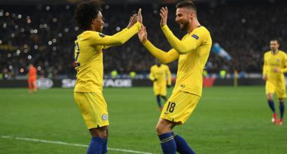 Europa League: manita del Chelsea a Kiev, Valencia avanti all'ultimo respiro