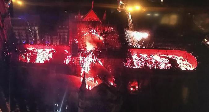 Incendio Notre-Dame, le reazioni del mondo dello sport