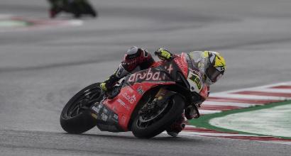 Superbike, Superpole Race Misano: Bautista trionfa ancora, cadono Rea, Davies e Cortese