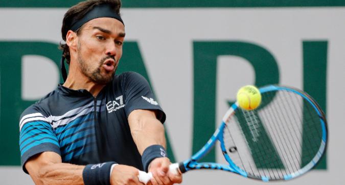 Tennis, Wimbledon: Fognini al primo turno con Tiafoe<br />