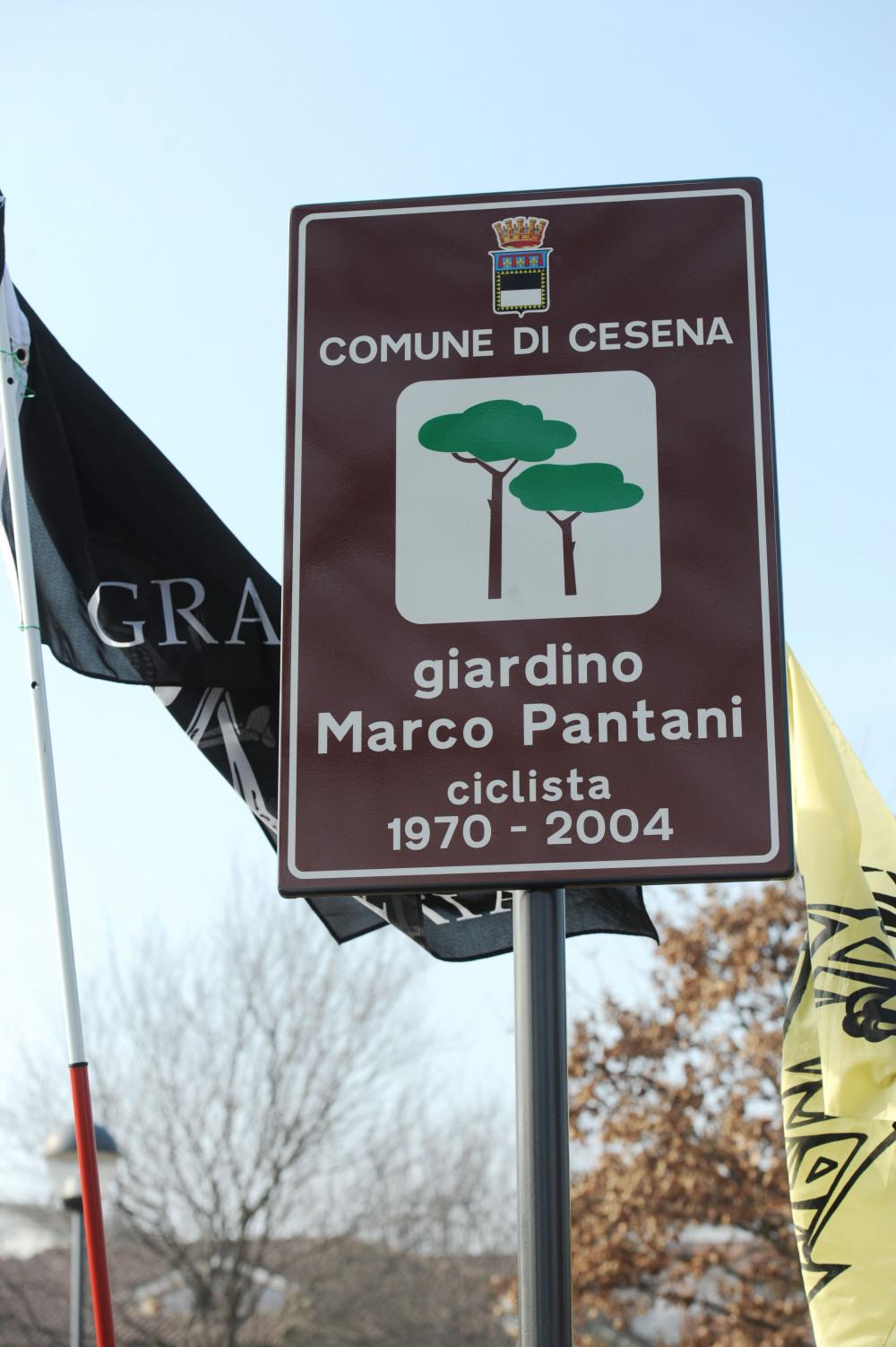 Un giardino per Pantani