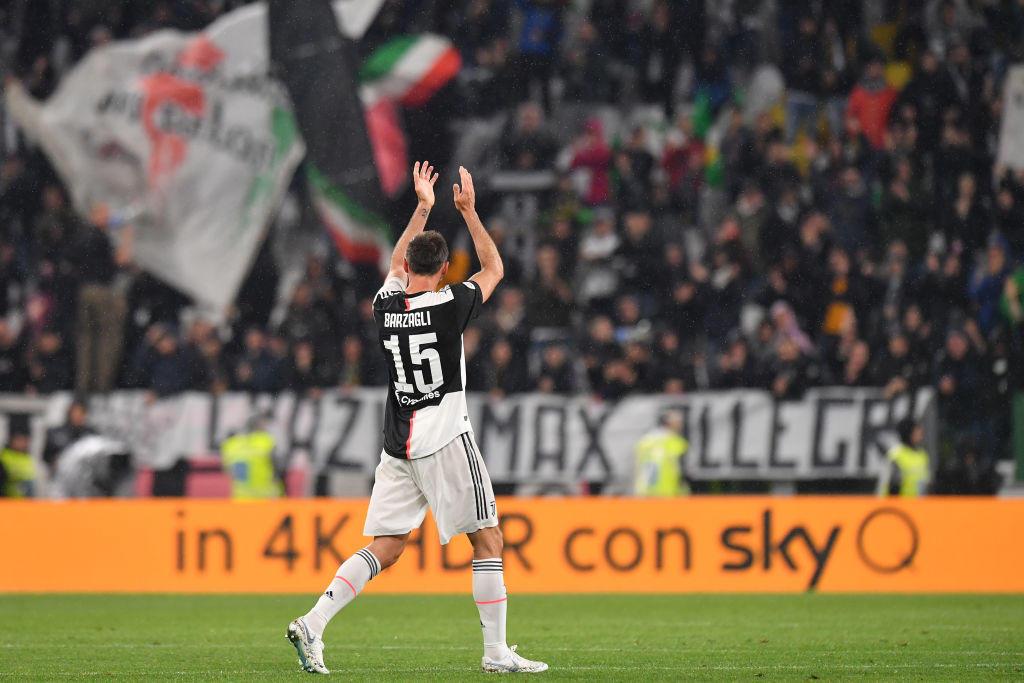 Andrea Barzagli, 38 anni, ha annunciato il ritiro dalla Juventus e dal calcio