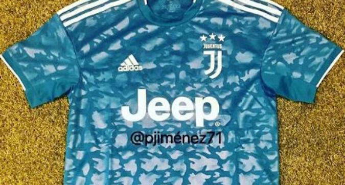 Juventus, l'anticipazione della terza maglia 2019/20