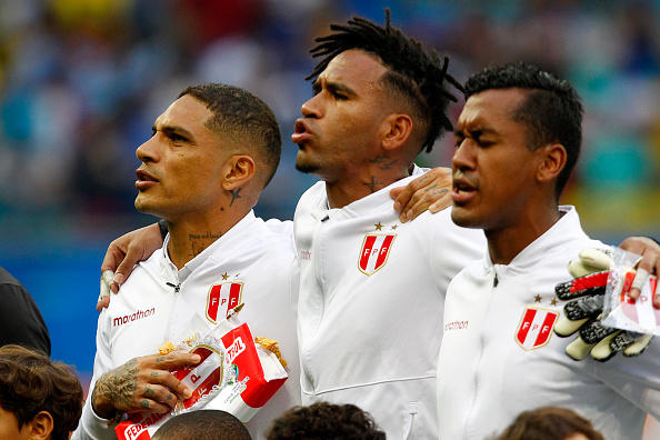 Copa America: le foto di Uruguay-Perù