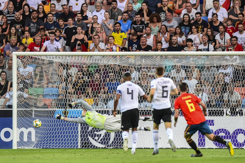 Europei U21, festa Spagna