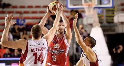 Basket, Serie A: derby a Reggio Emilia, Bologna ko